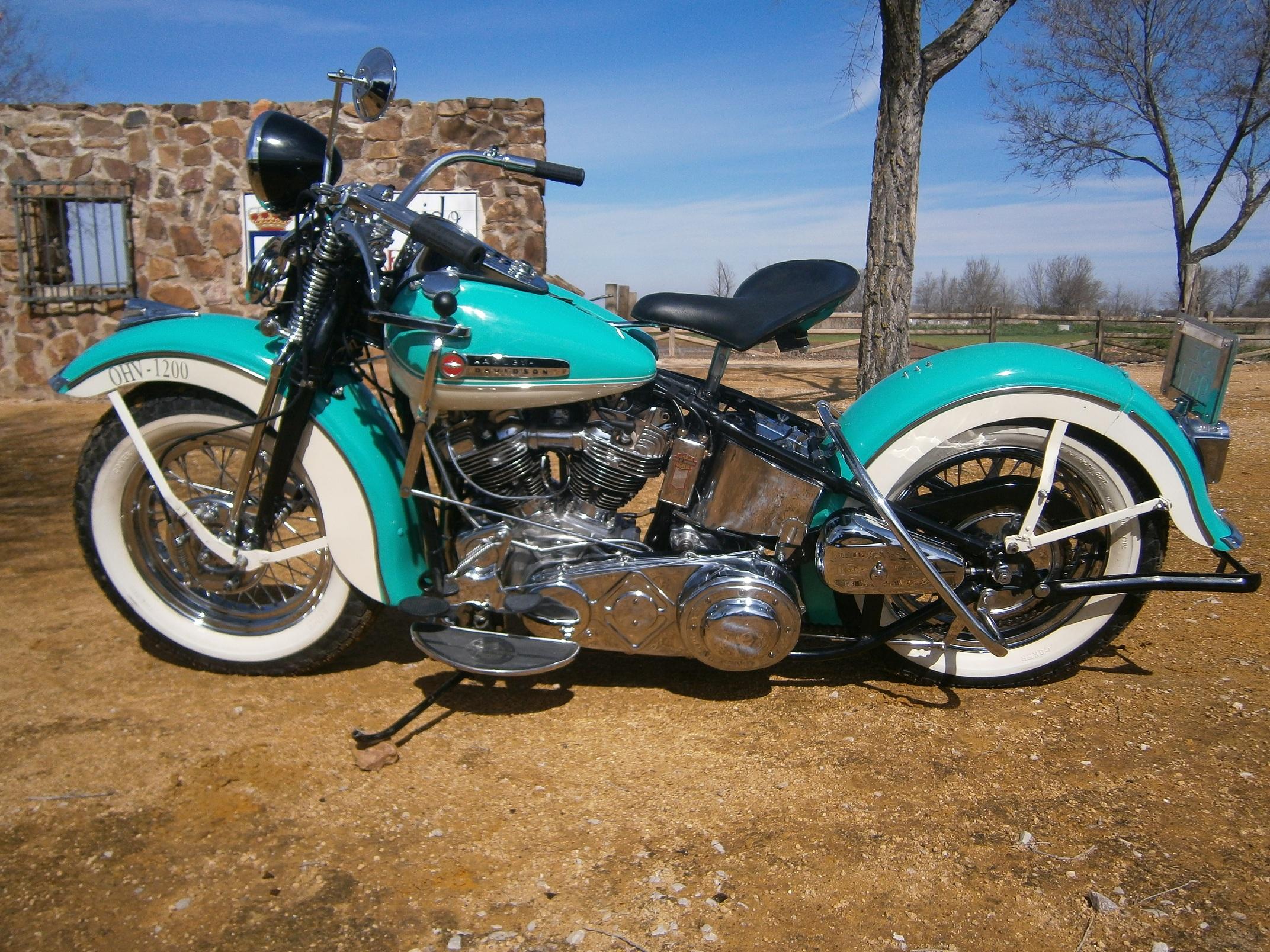 Harley Davidson: Harley Davidson F Knucklehead 1947