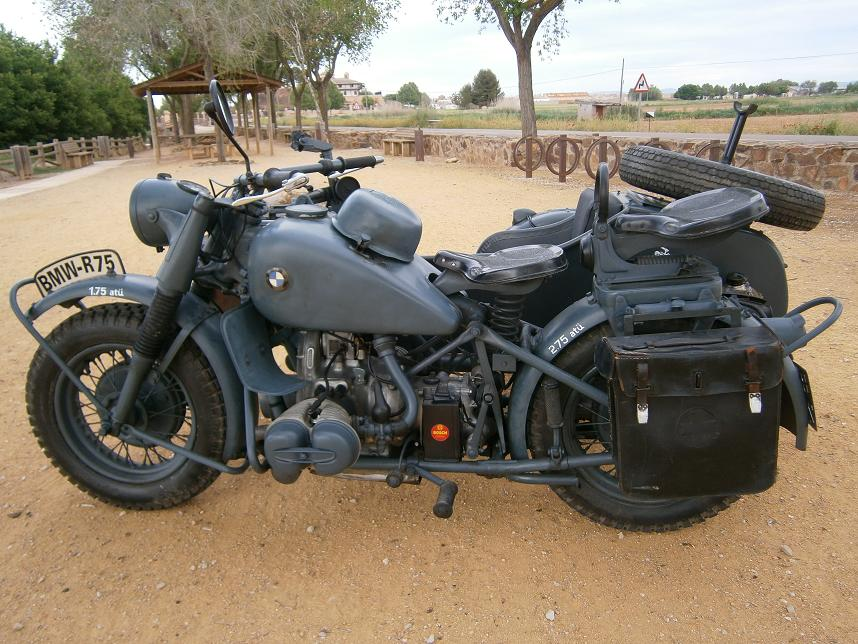 Moto Side Car De Collection