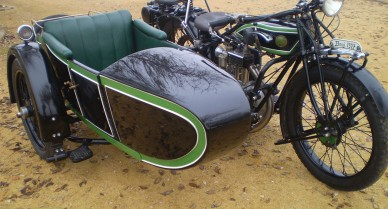 D-Rad R0-4 con sidecar NSU 1927